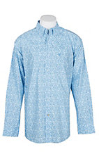 Ariat Men's Blue Cyrus L/S Western Shirt