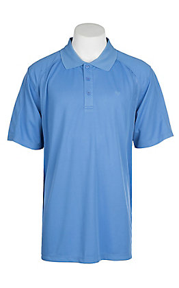 Ariat Men's Delphinium Lavender Heat Series Tek Polo Shirt