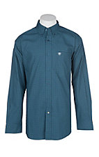 Ariat Men's Christian Blue L/S Western Shirt