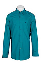 Ariat Men's Shocking Peacock Ezrah L/S Western Shirt