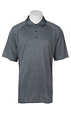 Ariat Men's Charger Blue Steel Heat Series Tek Polo Shirt
