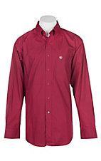 Ariat Men's True Crimson Glenn L/S Western Shirt