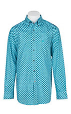 Ariat Men's Poppies Godwin Print L/S Western Shirt