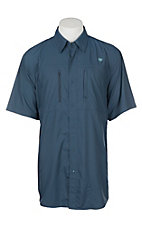 Ariat Ventek Men's Blue Pine S/S Work Shirt