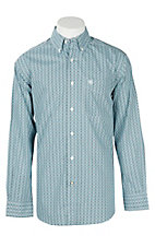 Ariat Men's Aztec Waterfall Cavender's Exclusive L/S Western Shirt