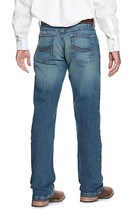 Ariat Men's M4 Legacy Dark Wash Relaxed Fit Boot Cut Stretch Jean