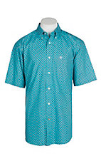 Ariat Men's Blue Bird Nico Print S/S Western Shirt