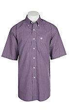 Ariat Men's Wrinkle Free Parlan Plaid S/S Western Shirt