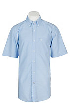 Ariat Pro Series Men's Moon Sky Marrow Print S/S Western Shirt