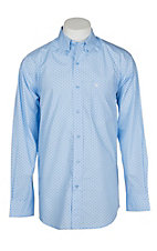Ariat Men's Noon Sky Milner Print L/S Western Shirt