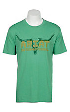 Ariat Men's Kelly Green Longhorn T-Shirt