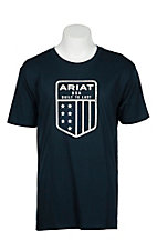 Ariat Men's Navy U.S. Shield S/S T-Shirt