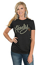 Ariat Women's Heather Black Howdy S/S T-Shirt