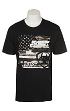Ariat Men's Black Americana Graphic S/S T-Shirt