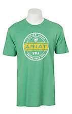 Ariat Men's Heather Kelly Green Premium Goods T-Shirt