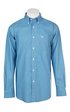 Ariat Men's Cendre Blue Kerrigan Cavender's Exclusive L/S Western Shirt