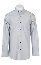 Ariat Men's Silver Sconce Lucky Cavender's Exclusive L/S Western Shirt