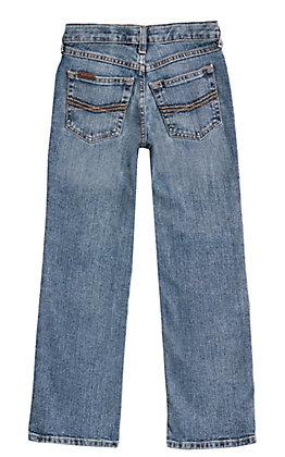 Ariat Boy's B5 Legacy Drifter Medium Wash Slim Fit Straight Leg Stretch Jeans (7-16)