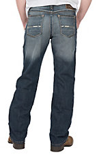 Ariat Men's M4 Atlantic Casey Dark Wash Low Rise Boot Cut Jeans