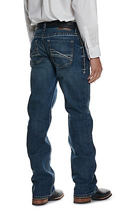 Ariat Men's M4 Preston Low Rise Stretch Boot Cut Jeans