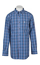 Ariat Men's Pro Series Paco Plaid Print Long Sleeve Western Shirt