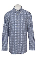 Ariat Men's Pacquin Aztec Micro Chip Long Sleeve Western Shirt