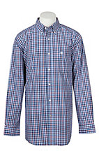 Ariat Pro Series Men's Multi-Color Sackman Plaid L/S Western Shirt