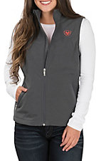 Ariat Women's Graphite New Team Softshell Vest