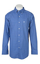 Ariat Men's Stretch French Spa Tallahassee Aztec Print L/S Western Shirt