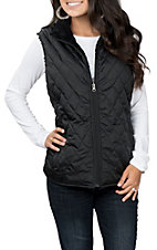 Ariat Women's Black Hall State Reversible Vest