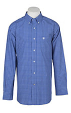 Ariat Pro Series Men's Taeger Plaid French Spade Western Shirt
