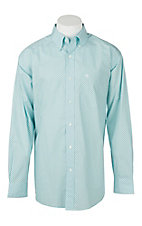 Ariat Men's Vancaster Geo Print Hockney Pool Long Sleeve Western Shirt