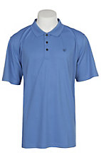 Ariat Men's Mukonos Blue Yonder Series Tek Polo Shirt