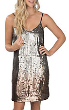 Ariat Women's Rocker Black Sequin Dress