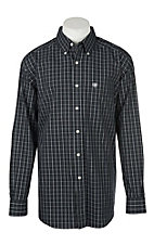 Ariat Men's Zellar Black Long Sleeve Western Shirt