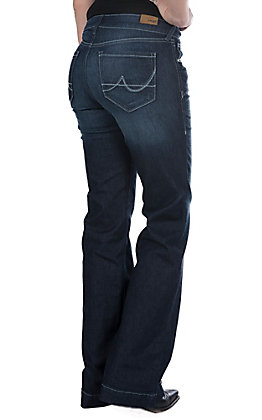Ariat Women's Nightshade Ultra Stretch Trouser Jeans