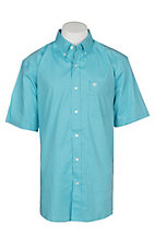 Ariat Men's Bluebird StoneyStretch Print S/S Cavender's Exclusive Western Shirt - Big and Tall