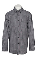 Ariat Men's Black Ripley Stretch Cavender's Exclusive L/S Western Shirt
