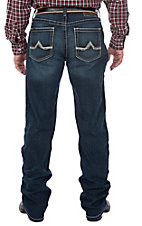Ariat Men's M2 Relaxed Dark Wash Maxwell Denali Cavender's Exclusive Stretch Boot Cut Jeans