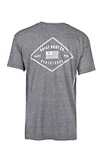 Ariat Men's Grey Cavender's Exclusive Registered S/S T-Shirt
