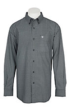 Ariat Men's Black Rivera Print L/S Western Shirt