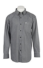 Ariat Men's Seneca Stretch Print L/S Cavender's Exclusive Western Shirt