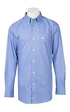 Ariat Men's Cavender's Exclusive Muscari Silverado Long Sleeve Stretch Print Western Shirt - Big & Tall