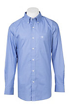 Ariat Men's Cavender's Exclusive Muscari Silverado Long Sleeve Stretch Print Western Shirt