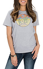 Ariat Women's Heather Grey Desert Dreamin Cavender's Exclusive T-Shirt