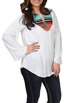 Ariat Women's Acacia Serape Bell Sleeve Fashion Top