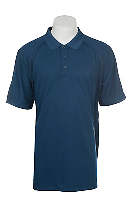 Ariat Men's AC Navy Blue Heat Series Polo Shirt