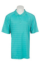 Ariat Men's Ceramic Stripe Heat Series Tek Polo Shirt