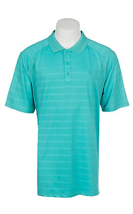 Ariat Men's AC Marina Stripe Heat Series Polo Shirt