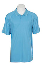 Ariat Men's Coast Azure Heat Series Tek Polo Shirt